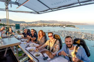 Cose da fare a Helsinki- Dinner in the sky