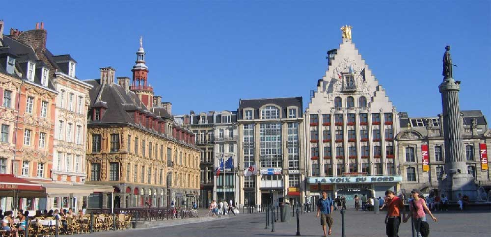 Lille - piazza